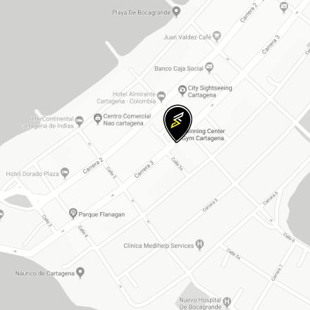 mapa-movil-bocagrande-spinning-center-gym