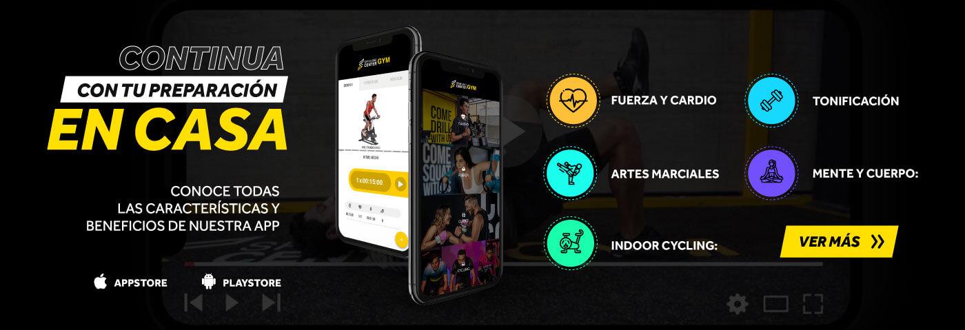 App de Spinning Center Gym