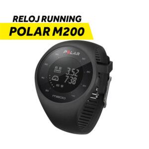 Reloj para correr Polar M200 BLK