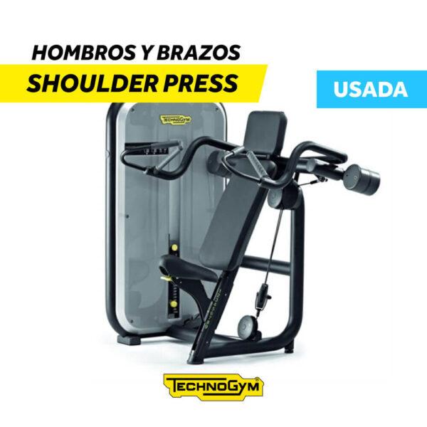 Venta de Shoulder Press Hombros y Brazos de Technogym USADA