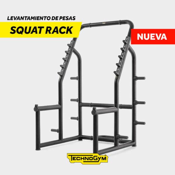 Venta de Squat rack, levantamiento de pesas de Technogym Nueva