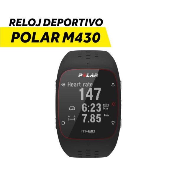 Reloj Deportivo Polar M430 BLK con GPS