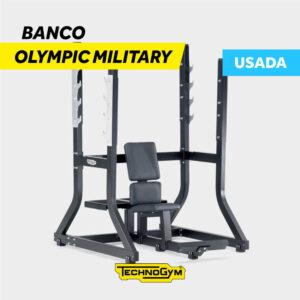 Venta de Banco Olympic Military de Technogym USADO