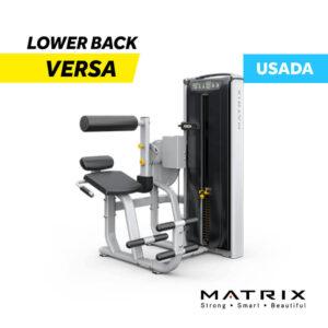 Venta Lower Back Versa de Matrix USADA