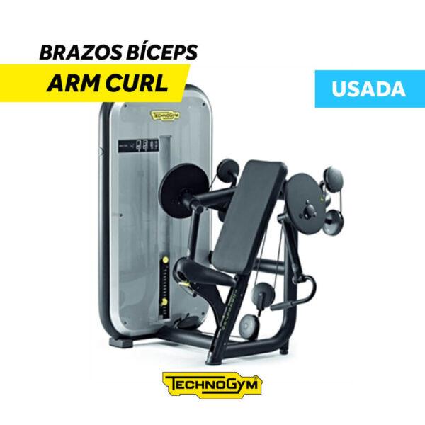 Venta de Arm Curl Brazos Bíceps Technogym USADA