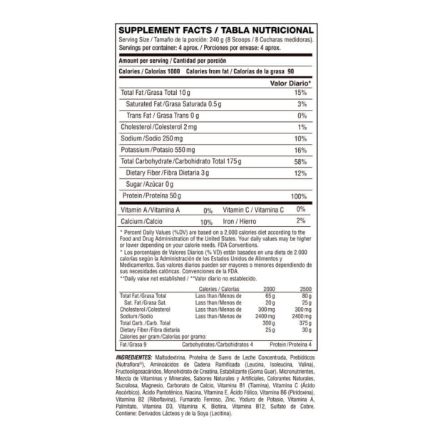 Proteína de Suero Concentrado Titan Army x 2 lbs 2