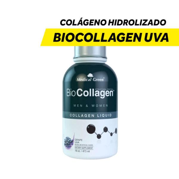 Colágeno Hidrolizado Biocollagen Uva x 16 Onzas