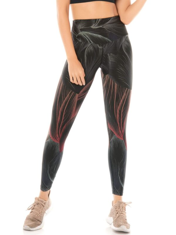 Leggings Deportivos Para Mujer Chamela Negro 3
