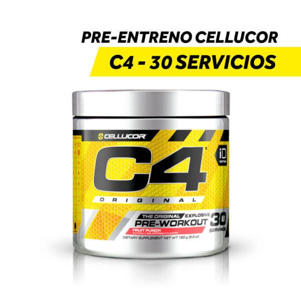 Pre-Entreno Cellucor C-4 - 30 Servicios x 180 gr.