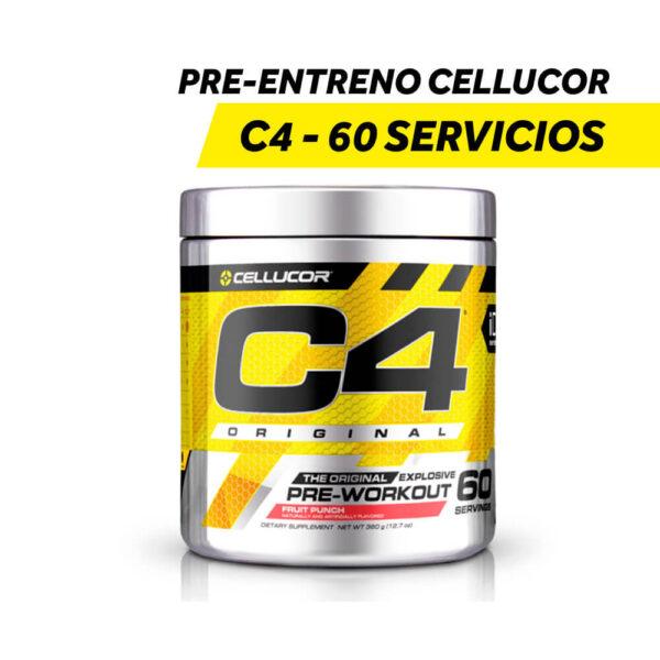 Pre-Entreno Cellucor C-4 - 60 Servicios x 180 gr.