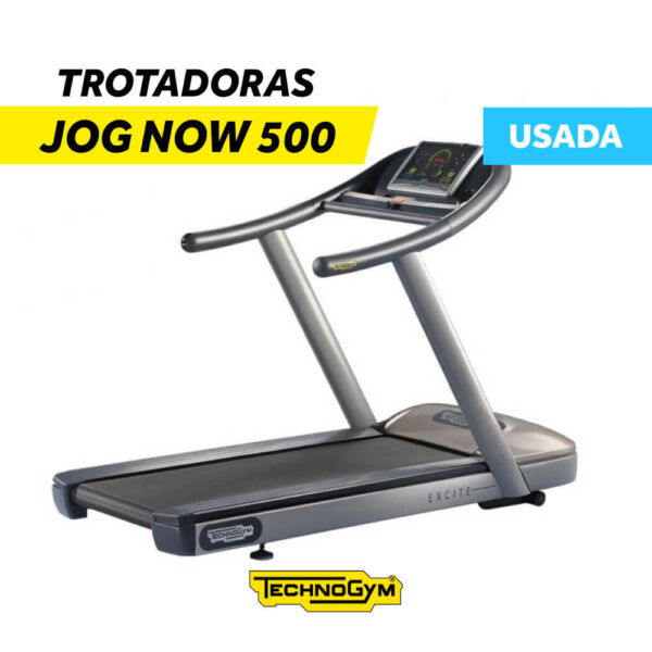 Trotadora Jog Now 500 Technogym