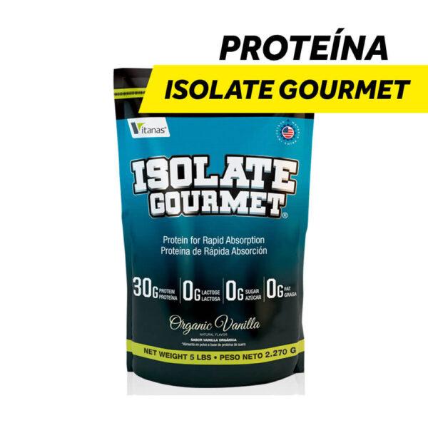 Proteína Aislada e Hidrolizada Isolate Gourmet x 5 lbs