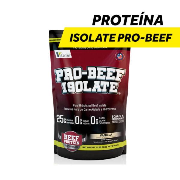 Proteína Aislada e Hidrolizada Isolate Pro-Beef x 2 lbs