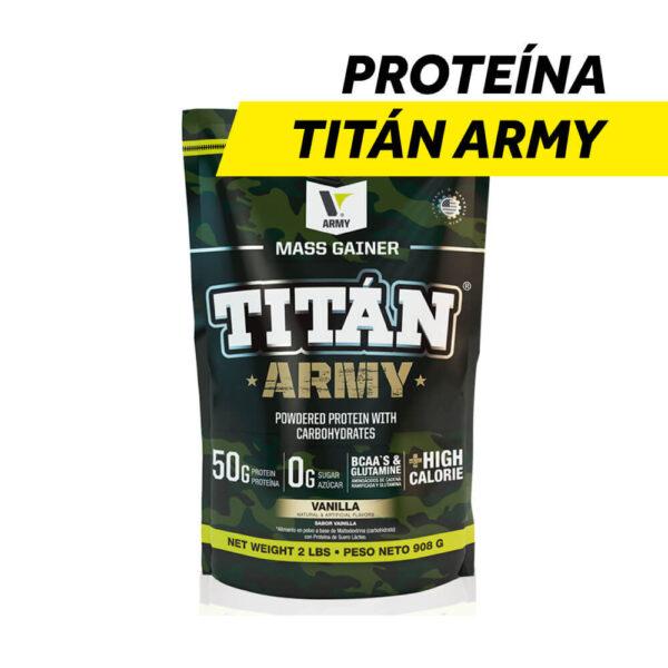 Proteína de Suero Concentrado Titan Army x 2 lbs