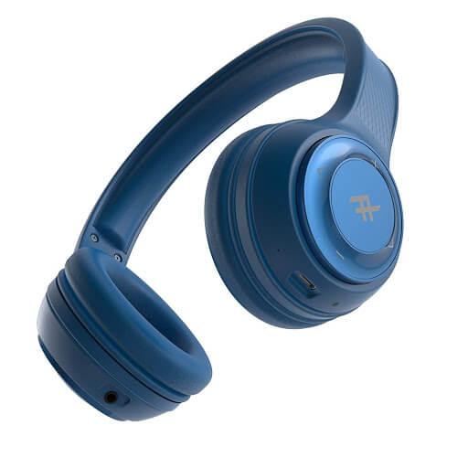 AUDÍFONOS INALÁMBRICOS ON EAR BT AUDIO TOXIX BLUE